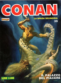 Cover Thumbnail for Conan Spada Selvaggia (Comic Art, 1986 series) #39