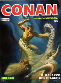 Cover Thumbnail for Conan Spada Selvaggia (Comic Art, 1986 series) #39