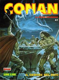 Cover Thumbnail for Conan Spada Selvaggia (Comic Art, 1986 series) #41