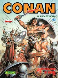 Cover for Conan Spada Selvaggia (Comic Art, 1986 series) #43