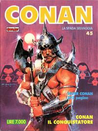Cover Thumbnail for Conan Spada Selvaggia (Comic Art, 1986 series) #45