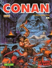 Cover Thumbnail for Conan Spada Selvaggia (Comic Art, 1986 series) #46