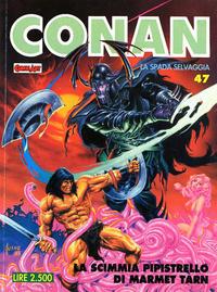 Cover Thumbnail for Conan Spada Selvaggia (Comic Art, 1986 series) #47