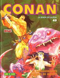 Cover Thumbnail for Conan Spada Selvaggia (Comic Art, 1986 series) #49