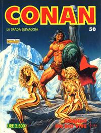 Cover Thumbnail for Conan Spada Selvaggia (Comic Art, 1986 series) #50