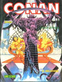 Cover Thumbnail for Conan Spada Selvaggia (Comic Art, 1986 series) #51