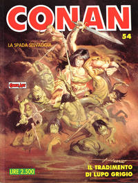 Cover Thumbnail for Conan Spada Selvaggia (Comic Art, 1986 series) #54