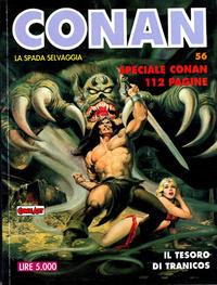 Cover Thumbnail for Conan Spada Selvaggia (Comic Art, 1986 series) #56