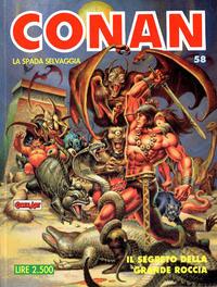 Cover Thumbnail for Conan Spada Selvaggia (Comic Art, 1986 series) #58