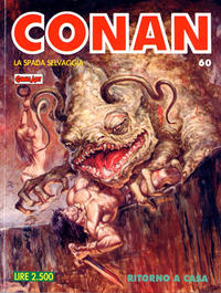 Cover Thumbnail for Conan Spada Selvaggia (Comic Art, 1986 series) #60