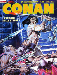 Cover Thumbnail for Conan Spada Selvaggia (Comic Art, 1986 series) #66