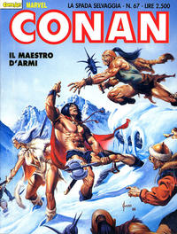 Cover Thumbnail for Conan Spada Selvaggia (Comic Art, 1986 series) #67