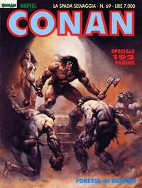 Cover Thumbnail for Conan Spada Selvaggia (Comic Art, 1986 series) #69