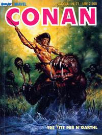 Cover Thumbnail for Conan Spada Selvaggia (Comic Art, 1986 series) #71
