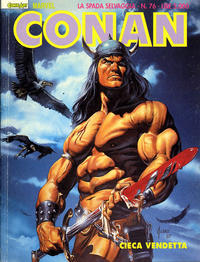 Cover Thumbnail for Conan Spada Selvaggia (Comic Art, 1986 series) #76