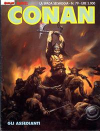 Cover Thumbnail for Conan Spada Selvaggia (Comic Art, 1986 series) #79
