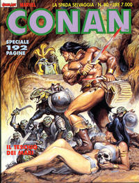 Cover Thumbnail for Conan Spada Selvaggia (Comic Art, 1986 series) #80