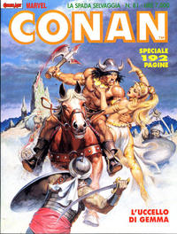 Cover Thumbnail for Conan Spada Selvaggia (Comic Art, 1986 series) #81