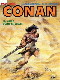 Cover Thumbnail for Conan Spada Selvaggia (Comic Art, 1986 series) #83