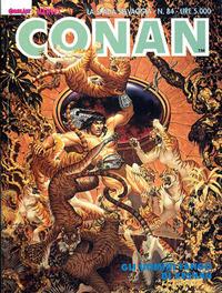 Cover Thumbnail for Conan Spada Selvaggia (Comic Art, 1986 series) #84