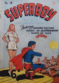 Cover Thumbnail for Superboy (K. G. Murray, 1949 series) #18