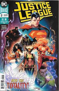 Cover Thumbnail for Justice League (DC, 2018 series) #2 [Jorge Jimenez Cover]