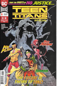 Cover Thumbnail for Teen Titans Special (DC, 2018 series) #1