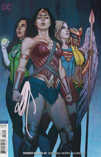 Cover Thumbnail for Wonder Woman (DC, 2016 series) #48 [Jenny Frison Variant Cover]