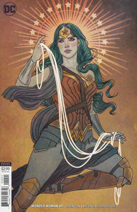 Cover Thumbnail for Wonder Woman (DC, 2016 series) #49 [Jenny Frison Variant Cover]