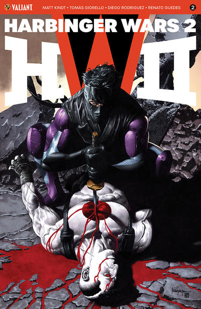 Cover for Harbinger Wars 2 (Valiant Entertainment, 2018 series) #2 [Cover C - Juan José Ryp]