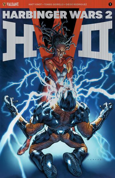 Cover for Harbinger Wars 2 (Valiant Entertainment, 2018 series) #1 [Cover D - Juan José Ryp]