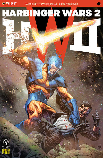 Cover for Harbinger Wars 2 (Valiant Entertainment, 2018 series) #1 Pre-Order Edition