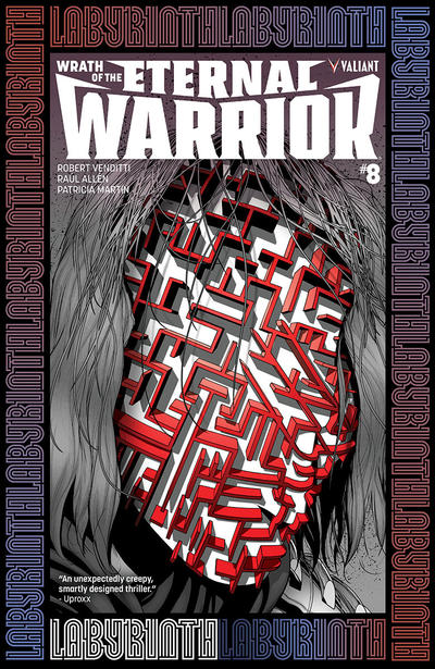 Cover for Wrath of the Eternal Warrior (Valiant Entertainment, 2015 series) #8 [Cover B - Pere Pérez]