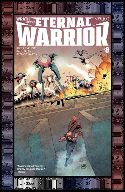 Cover for Wrath of the Eternal Warrior (Valiant Entertainment, 2015 series) #8 [Cover A - Raúl Allén]