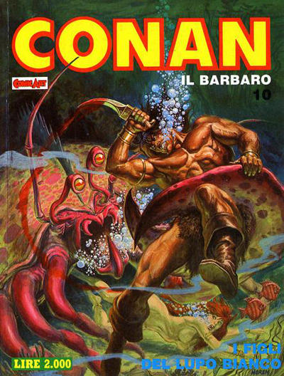 Cover for Conan Spada Selvaggia (Comic Art, 1986 series) #10