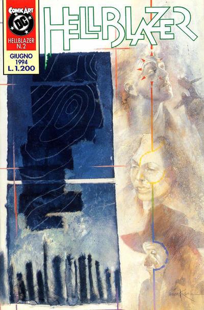 Cover for Hellblazer (Comic Art, 1994 series) #2