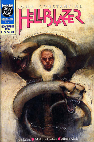 Cover for Hellblazer (Comic Art, 1994 series) #7