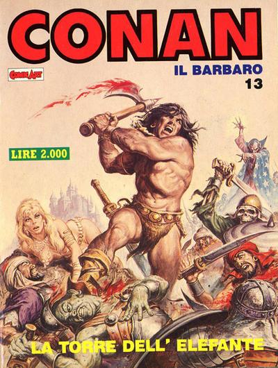 Cover for Conan Spada Selvaggia (Comic Art, 1986 series) #13
