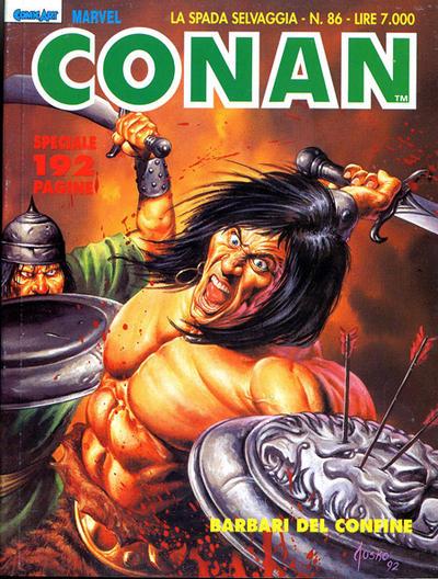 Cover for Conan Spada Selvaggia (Comic Art, 1986 series) #86