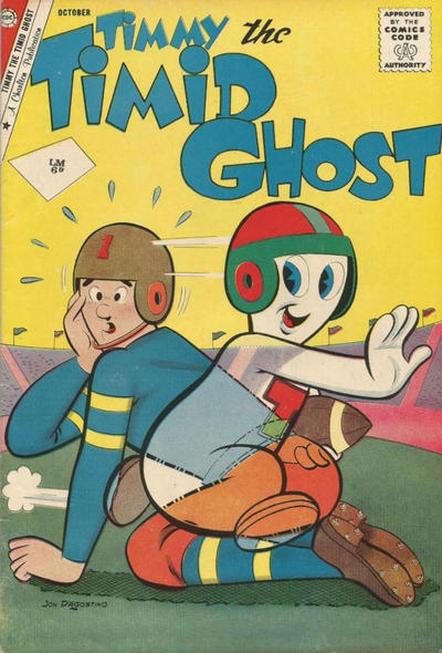 Cover for Timmy the Timid Ghost (Charlton, 1956 series) #29 [British]