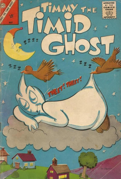 Cover for Timmy the Timid Ghost (Charlton, 1956 series) #38 [British]