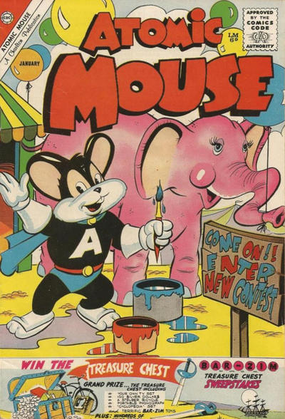 Cover for Atomic Mouse (Charlton, 1953 series) #40 [British]