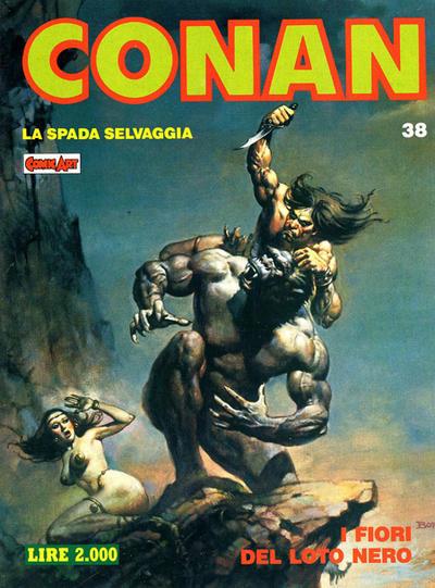 Cover for Conan Spada Selvaggia (Comic Art, 1986 series) #38
