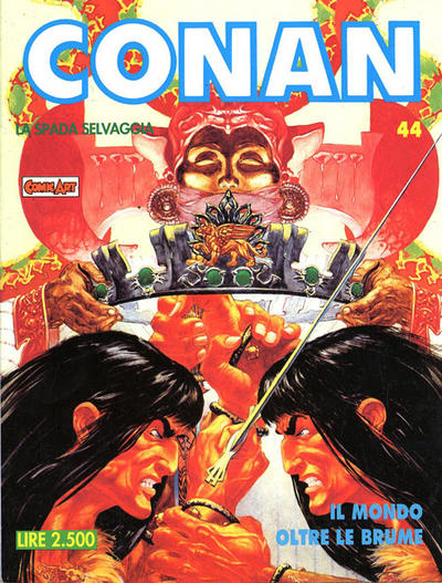Cover for Conan Spada Selvaggia (Comic Art, 1986 series) #44