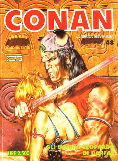 Cover for Conan Spada Selvaggia (Comic Art, 1986 series) #48