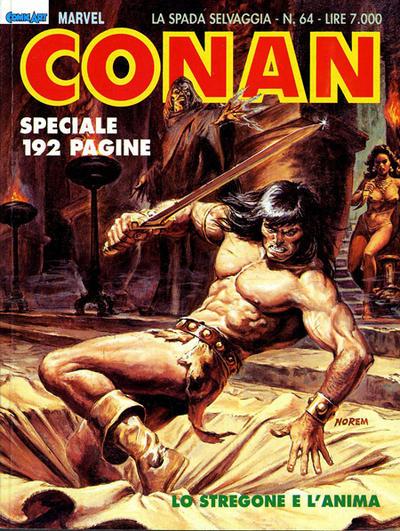 Cover for Conan Spada Selvaggia (Comic Art, 1986 series) #64