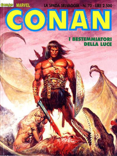 Cover for Conan Spada Selvaggia (Comic Art, 1986 series) #70