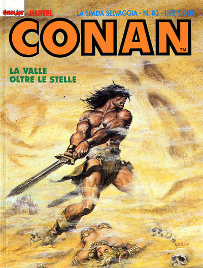 Cover for Conan Spada Selvaggia (Comic Art, 1986 series) #83
