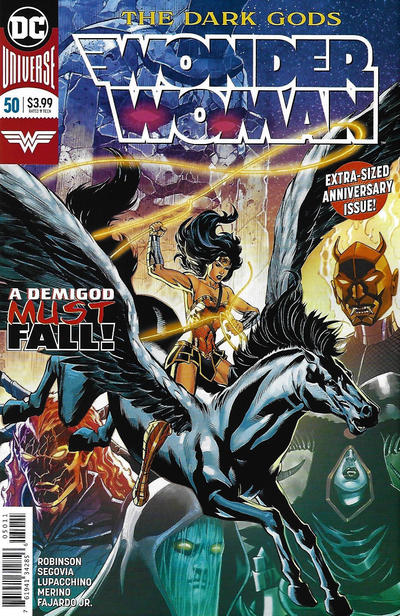 Cover for Wonder Woman (DC, 2016 series) #50 [Jesus Merino Cover]