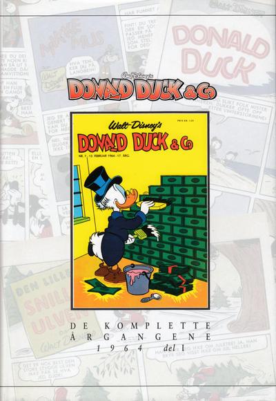 Cover for Donald Duck & Co De komplette årgangene (Hjemmet / Egmont, 1998 series) #[64] - 1964 del 1